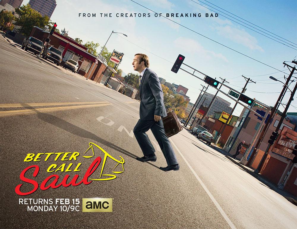 """Affiche de la saison 2 de """"Better Call Saul"""""""