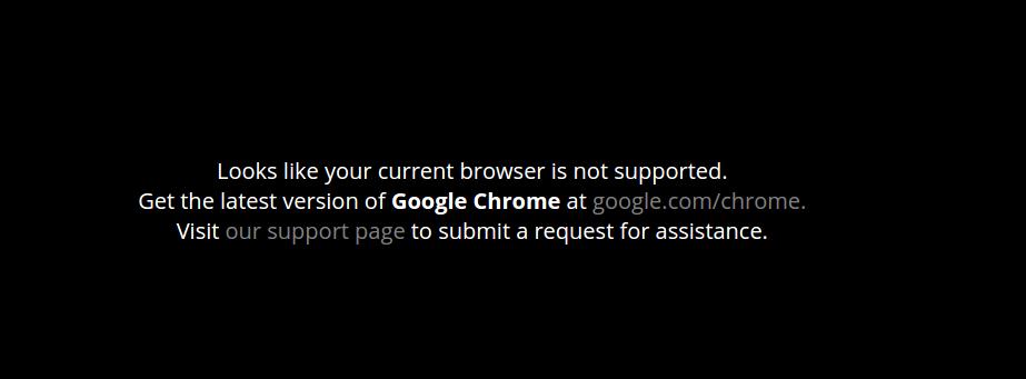 Erreur WebGL