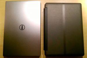 "Comparaison avec un portable LDLC 11,6"""