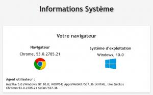 Information système LHV